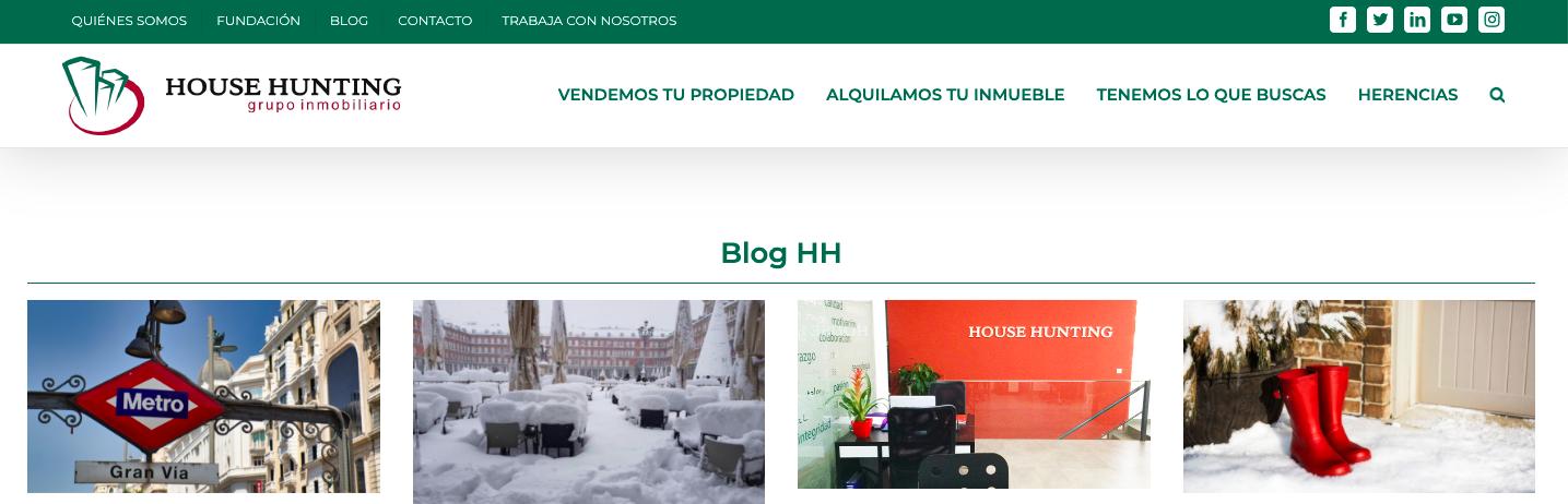 house hunting blog