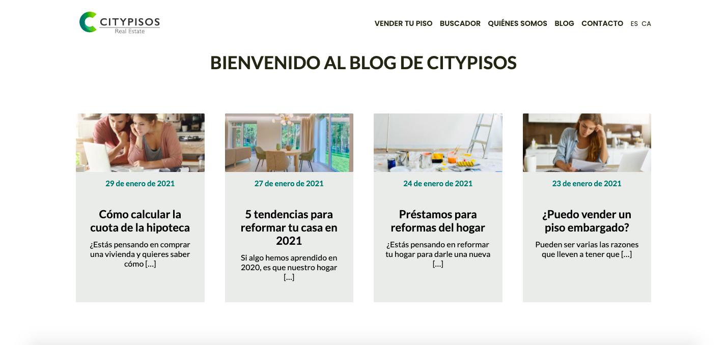 blog citypisos