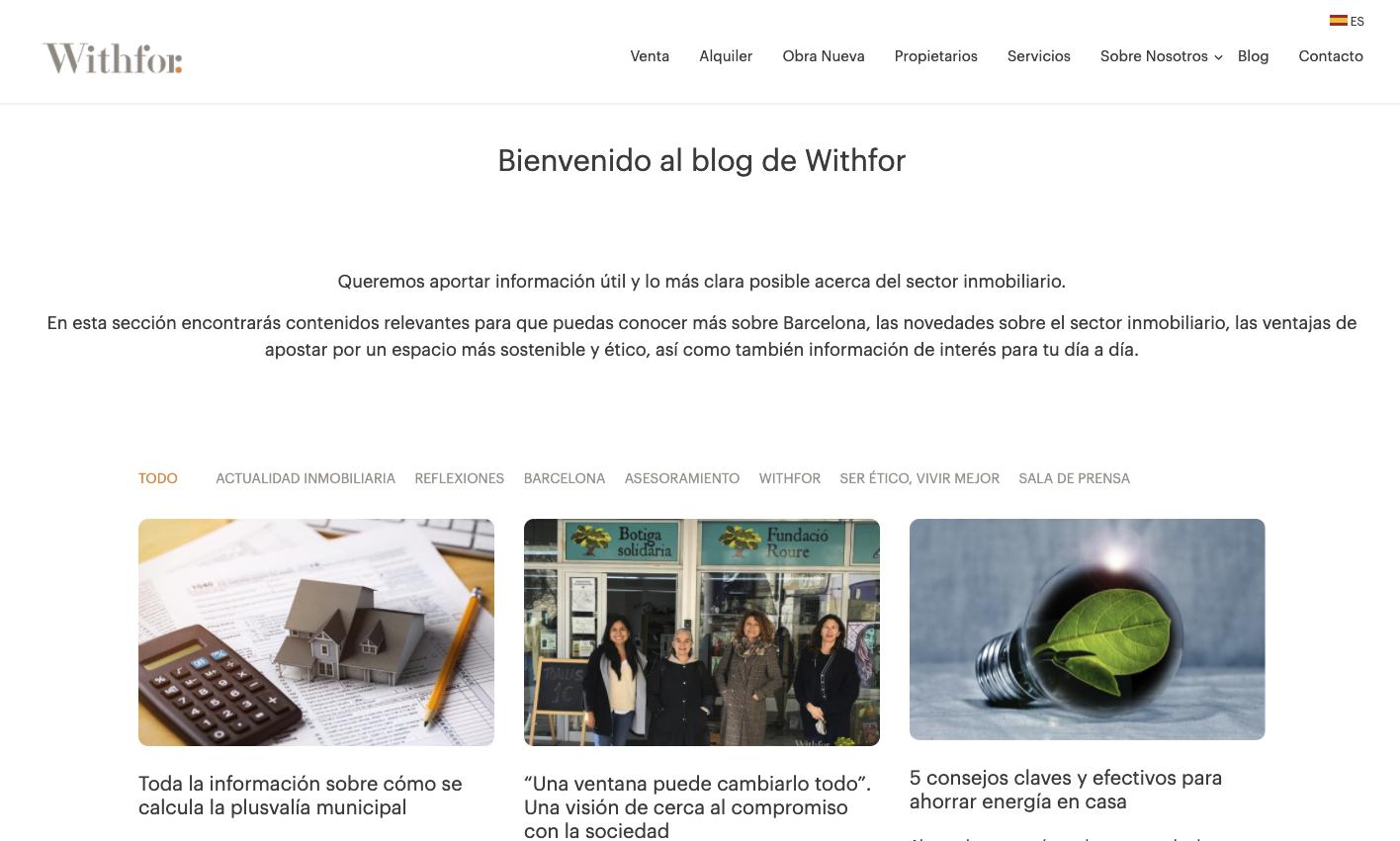 blog withfor