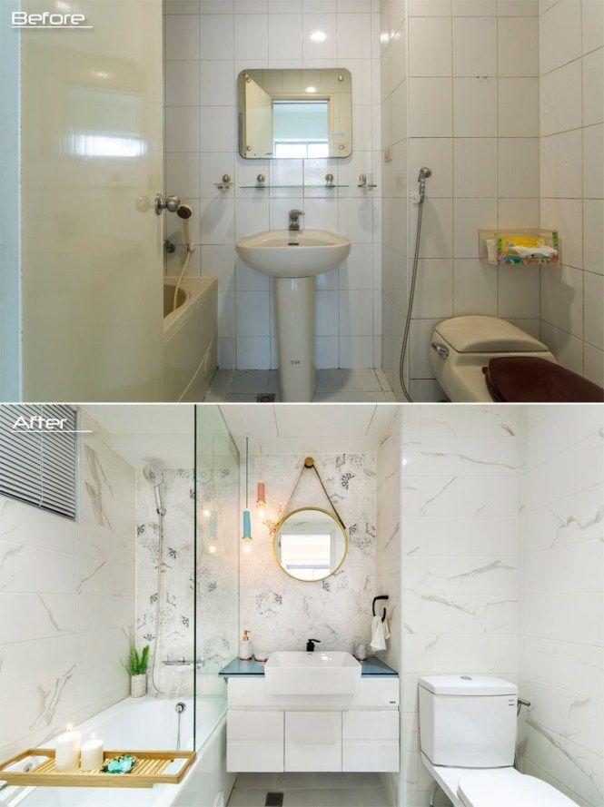 Antes y después en la reforma de un baño