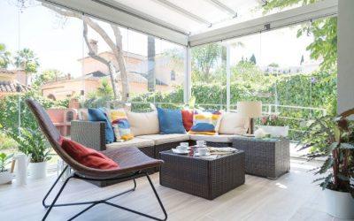 ¿Cuánto cuesta cerrar la terraza?